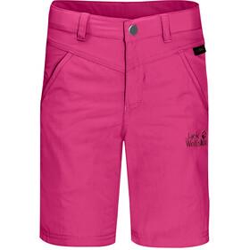Jack Wolfskin Sun Shortsit Lapset, pink peony